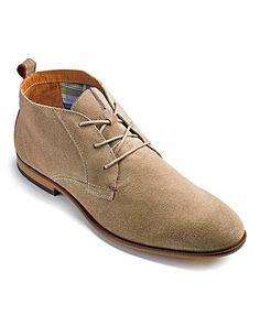 Tommy Hilfiger Lace Up Boots | Jacamo.co.uk