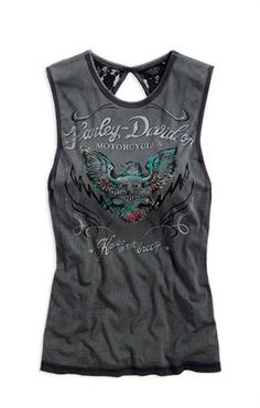Harley-Davidson® Women's Limited Edition Lace Open Back Tank 96364-14VW