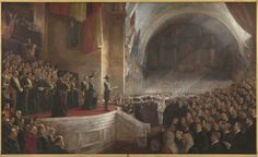 Opening of the first parliament of Australia, 9 May, 1901
