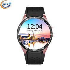 GFT smart uhr kw88 3G mtk6580 Android 5.1 Smart Uhr mit 5,0 MP Kamera GPS WiFi Bluetooth4.0 Schrittzähler Herzfrequenz smartwatch //Price: $US $119.99 & FREE Shipping //     #smartuhren