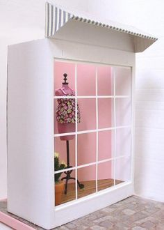 Create a Boutique Window - by Audrey