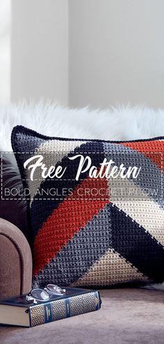 21 Trendy Ideas For Sewing Pillows Free Crochet Crochet Afghans, Crochet Pillow Patterns Free, Crochet Cushions, Sewing Pillows, Free Pattern, Beginner Crochet Projects, Crochet Patterns For Beginners, Crochet Ideas, Crochet Home