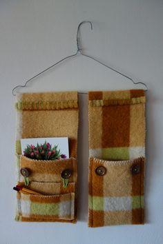 Naaien: Dekens *Sewing: Blankets ~Deken met Opbergvakjes aan hanger van Naaldenatelier.nl~