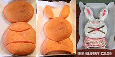 Super Easy Bunny Cak