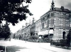 Arnhem: De Apeldoornseweg op de hoek van hoek Sint Marten, ca. 1910