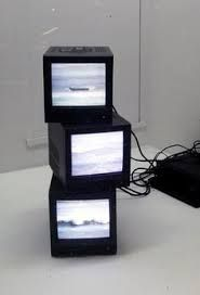 Image result for television art installation