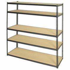 Muscle Rack Shelving Unit H: 1800mm, W: 1500mm, D: 450mm - Mitre 10