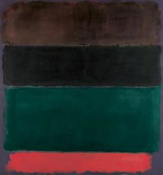 MARK ROTHKO – UNTITLED (RED-BROWN, BLACK, GREEN, RED), 1962 Ohne Titel (Rotbraun, Schwarz, Grün, Rot) – Öl auf Leinwand, 206 x 193,5 cm – Foto: Peter Schibli, Basel