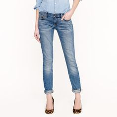 J.Crew Matchstick jean in selvedge