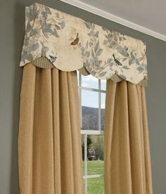Double Valance, Double Valances - Country Curtains®