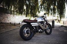 V7 Scrambler par l'atelier BAAK Motocyclettes