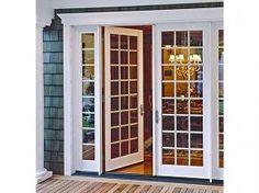 Patio Doors - traditional - interior doors - los angeles - Arcadia Classic Window Co. Sliding French Doors, French Doors Patio, Sliding Patio Doors, Sliding Glass Door, French Patio, Front Doors, Double Doors, Wood Doors, French Doors With Sidelights