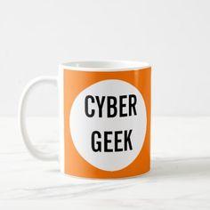 Cyber Geek Mug - kids kid child gift idea diy personalize design