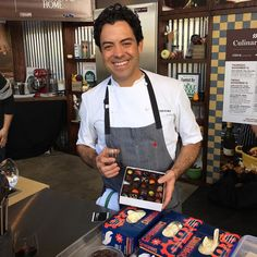 Chef Chris Kollar @ckollarchocolates in #Yountville demonstrated the #chocolate #truffle at the 2015 Napa Valley Film Festival #NVFF #NVFF15 #NapaValleyFilmFestival  @NapaFilmFest @visitnapavalley NOV 11-15.  #food #wine #NapaValley #Dep #DepLifestyle  #DepLifestyleMagazine #travel #VisitNapaValley #WineCountry by 1mandabear