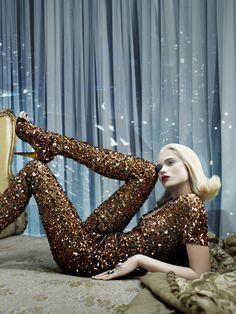 Model: Abbey Lee Kershaw | Photographer: Emma Summerton | Wardrobe: Alexander McQueen - Vogue Italia , June 2009 - wow!
