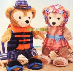 Bathing suits for Duffy and Shellie May