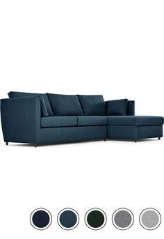 Made Corner Storage Sofa Bed With Memory Foam Mattress Arctic Blue Milner Sofas Collection From Com Vibe Ideas Pinterest
