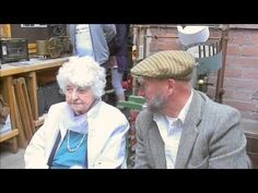 Sid Calderbank talks to Hilda Elsworth - a former weaver at Bancroft Mill in Barnoldswick - YouTube