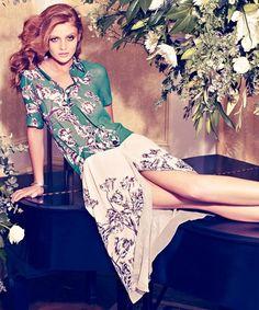 floral, fabulous coordinating of fabrics