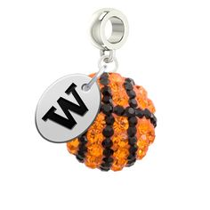 Washington Huskies Basketball Drop Charm