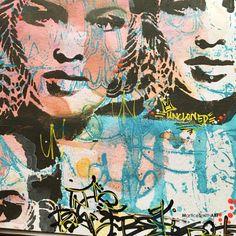 Stencil Street Art, Stencil Graffiti, Graffiti Lettering Fonts, Graffiti Painting, Murals Street Art, Graffiti Wall, Stencil Painting, Street Art Graffiti, Collage Design