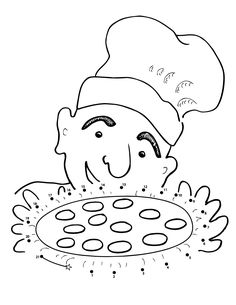 free pizza steve coloring pages - photo#36
