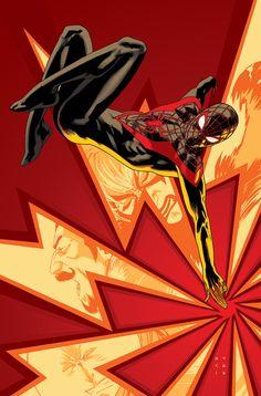 """kristaferanka:  My """"Mighty Men of Marvel"""" Spider-Man 6 variant"""