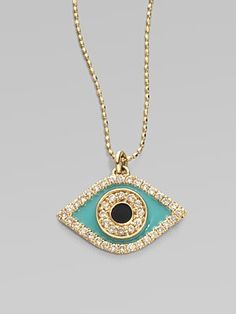 Sydney Evan evil eye necklace.  <3