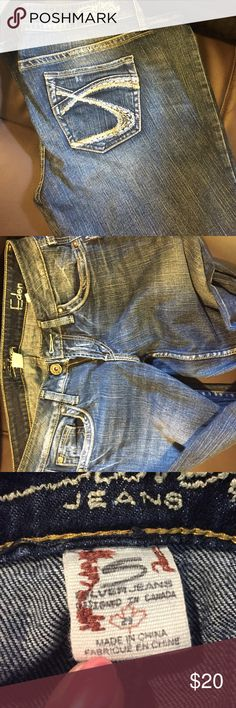 Silver Eden jeans 29/33 EUC like new! Silver Jeans Jeans Boot Cut