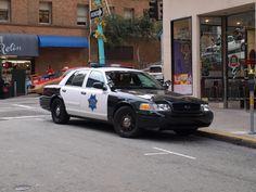 San Francisco, police car