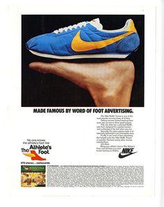 Nike-Word of Foot Advertisement - 1976