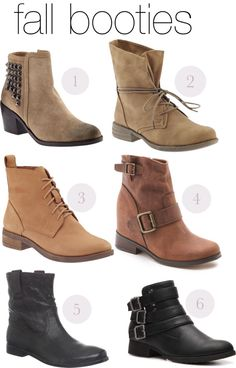Fall Fashion: Booties
