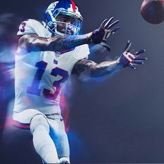 24ffb290158 Power Ranking all 32 NFL Color Rush Uniforms 19. New York Giants Panthers  Football