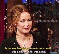 Jenifer Lawrence... don't lie you laughed!!!:)