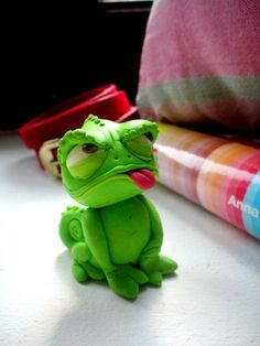 Pascal, from Tangled, polymer clay work