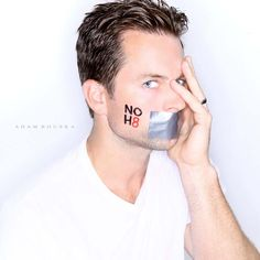 """Michale Muhney (The Young and The Restless, NOH8 campaign) -- YES.. see """"Adam Newman"""" isn't all bad :)"""