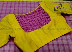 - Her Crochet Blouse Designs High Neck, Patch Work Blouse Designs, Best Blouse Designs, Simple Blouse Designs, Stylish Blouse Design, Dress Designs, Pattu Saree Blouse Designs, Designer Blouse Patterns, Sarees