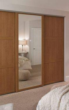 Oak Shaker Wardrobe Doors