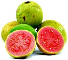 Organic Guava is an exotic fruit packed with vitamin C which boosts collagen production to smooth skin.