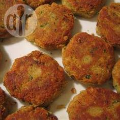 Veggie Falafel Burgers @ allrecipes.co.uk