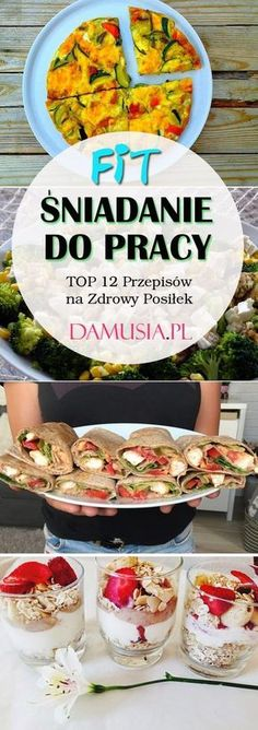 Fit Przepisy - Baby Tips & Shower Ideas Healthy Snacks, Healthy Eating, Healthy Recipes, Fruit Recipes, Cooking Recipes, Recipies, Helathy Food, Slow Food, Creative Food