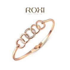 Hot Sale Jewelry & watch Aliexpress.com에서 ROXI는 도매 화이트 골드 장미 도금 오스트리아 크리스탈 팔찌 뱅글 팔찌 패션 보석 2015031405에 관한 고품격 팔찌의 더 많은 팔찌정보를 찾습니다.