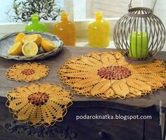 Magic crochet n 50 leila tkd lbuns da web do picasaar crochet sunflowers placemat lcwith diagram ccuart Choice Image