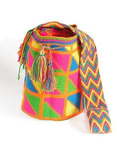 Wayuu Mochila Bag *** Visit the image link for more details. #Handmadehandbags