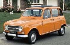 orange avg Renault 4L 001