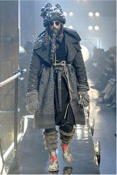 homeless-inspired Dior fashion
