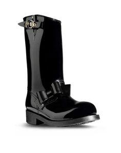 REDValentino - Rain boot Women - Shoes Women on Valentino Online Boutique