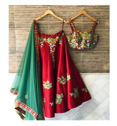 This RED lehenga choli From Crazy Butik for women is made of TAFFETA SILK material, it is inclusive of a lehenga, choli and a dupatta.(Sligtly variation in color and work) Lehenga Choli Latest, Red Lehenga, Indian Lehenga, Anarkali, Lengha Choli, Sabyasachi, Indian Dresses, Indian Outfits, Indian Clothes