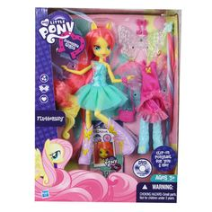 My Little Pony Equestria Girls Fluttershy Doll-This is the one Equestria Girls doll I'm interested in. :)
