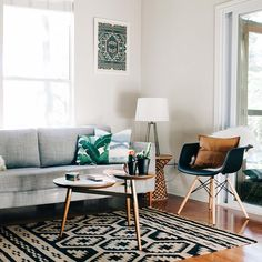 """west elm on Instagram: """"Feeling the modern boho vibes of @kourtneykox's Austin digs. Check out the full home tour on the blog today—link in profile! #mywestelm #"""""""